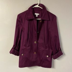 Woman's Charter Club jacket size Med